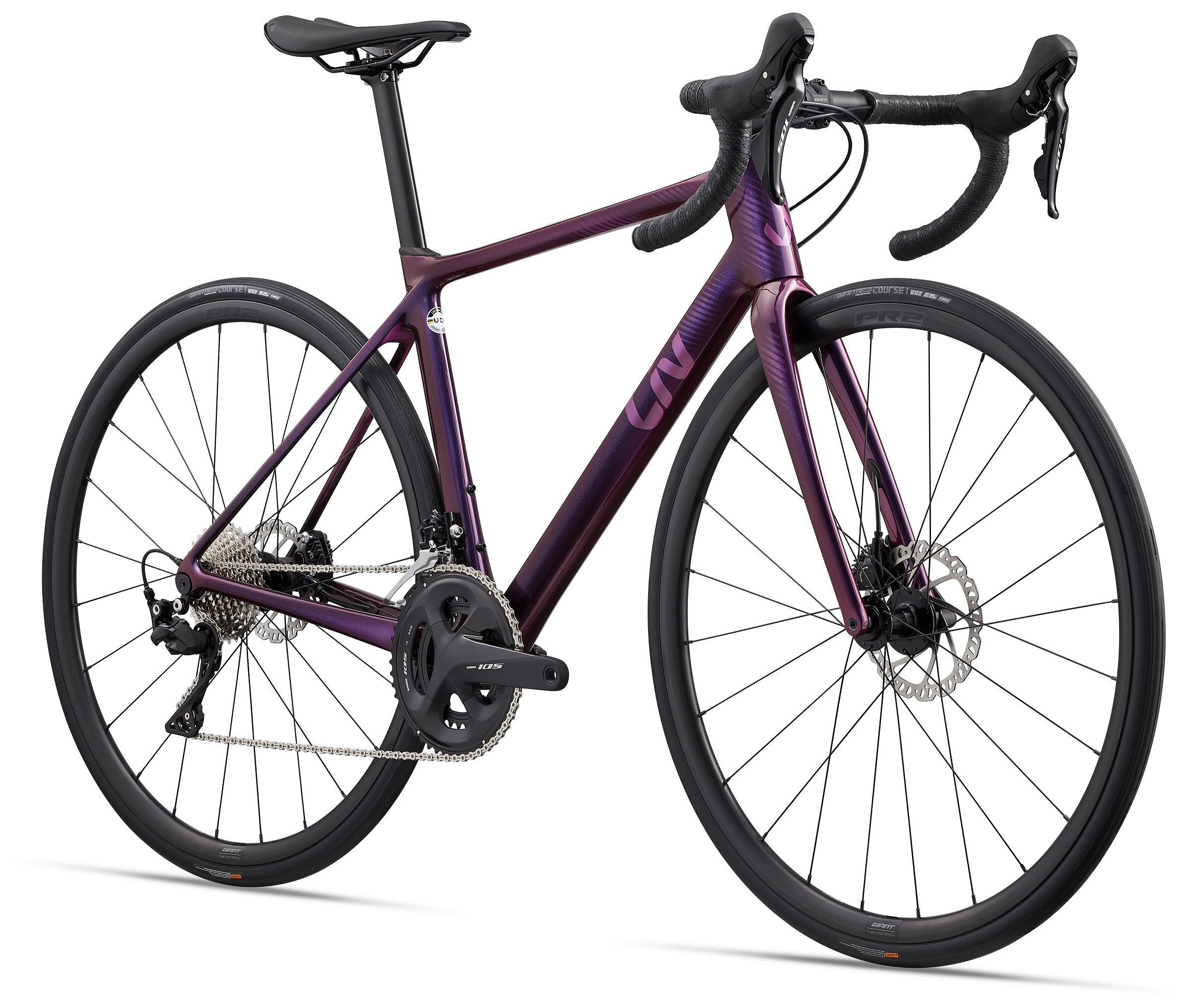 MY22 Langma Advanced 2 Disc-QOM_Color B Chameleon Purple_Frontxiaotu.jpg